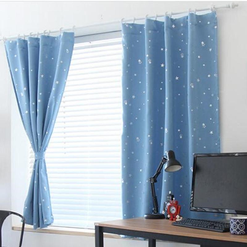 【Crystalawaking】Rèm che cửa sổ VAKIND - Màu xanh nhạt