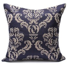 Giá Bán Xanh Dương Vintage Vải Lanh Cotton Sofa Xe Đệm Nem Gối Trang Tri Nha Phong Cach 6 Quốc Tế Rẻ