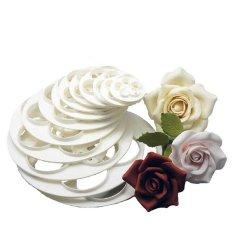 Giá Bán Bluelans® Fondant Cake Rose Flower Cookie Mould Gum Paste Cutter Tool 6Pcs Intl Blue Lans