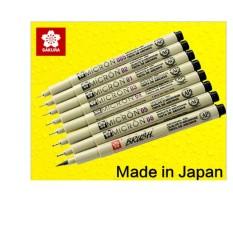 Mua Bộ 07 bút kim đi line, vẽ kỹ thuật Sakura Pigma Micron  - Khalik (size 0.05-0.8)