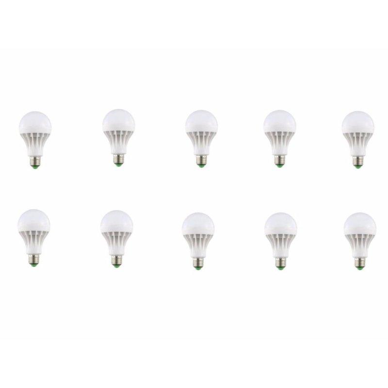 Bộ 10 đèn led nấm 18w sáng vàng