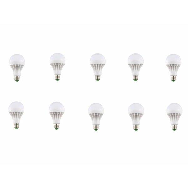 Bộ 10 đèn led nấm 5w sáng trắng
