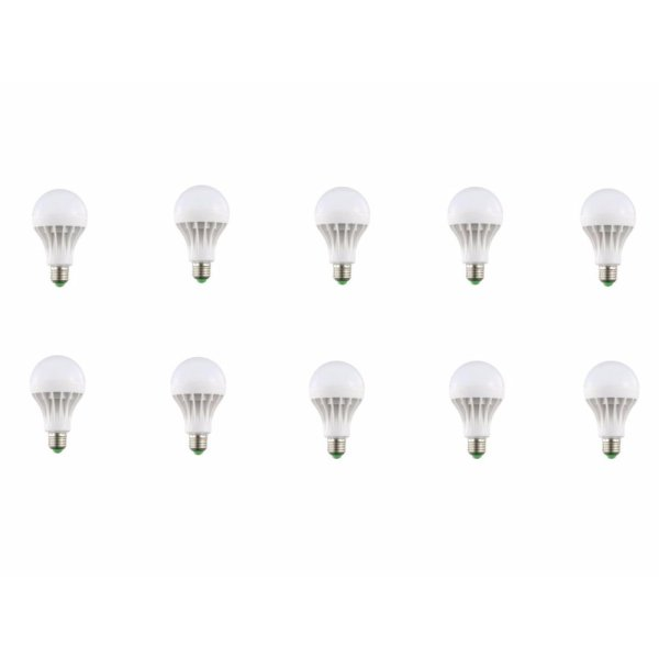 Bộ 10 đèn led nấm 9w sáng trắng