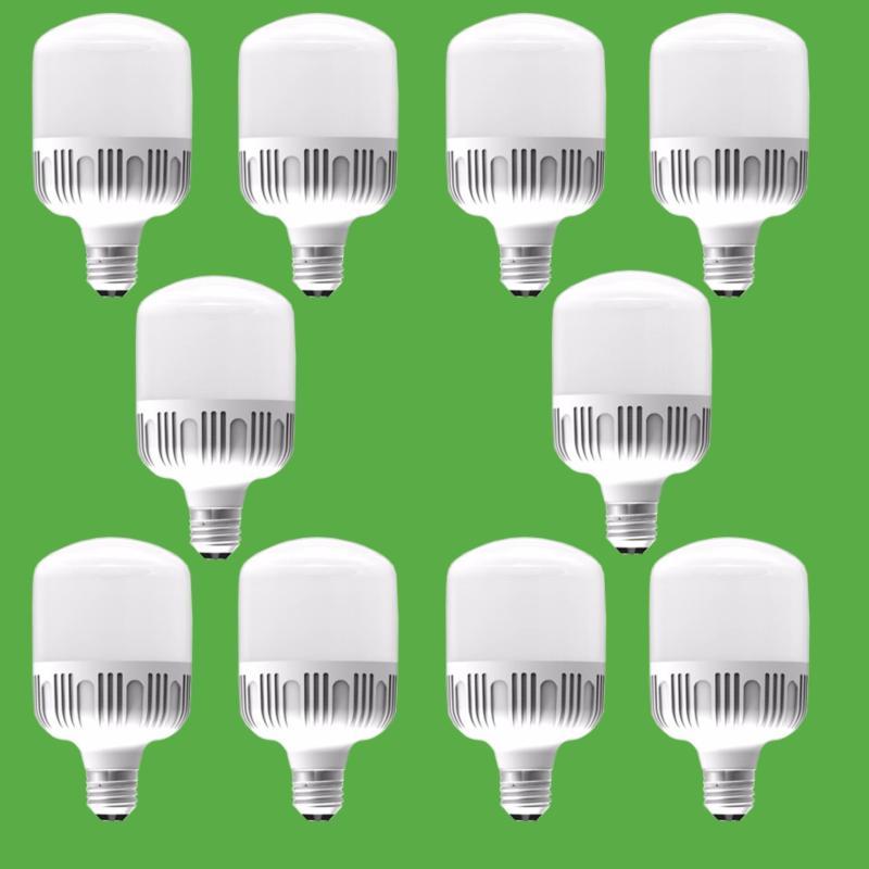 Bộ 10 bóng đèn led Bulb chống nước 9w ( ánh sáng trắng )
