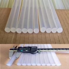 Bộ 10 cây keo silicon loại lớn dùng cho súng bắn keo 60W PGH-02 (trắng)