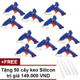 Bán Bộ 10 Cay Sung Bắn Keo Silicon Xanh Tặng 50 Cay Keo Nyleo Rẻ Trong Hồ Chí Minh