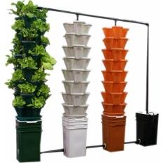 Hình ảnh Bộ 10 chậu tháp trồng cây thủy canh / trồng cây bằng đất