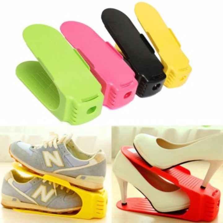 Bộ 10 kệ để giày dép thông minh + Tặng kèm 1 thẻ tích điểm KoreaStore