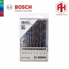 Bộ 10 Mũi Khoan Bosch Hss R Din338 1 10Mm Bosch Chiết Khấu 30