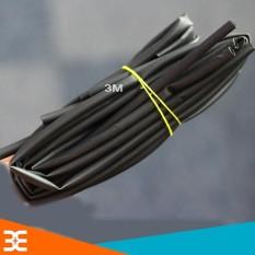 Hình ảnh Bộ 10 Ống Gen Co Nhiệt, Cách Điện Đường Kính 4mm, mỗi ống dài 1m ( Đen )