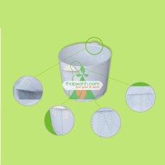 Bộ 10 túi trồng cây 2 quai (Φ40 x h35)