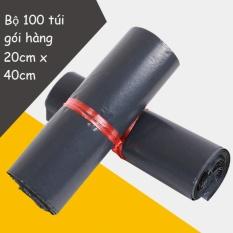 Cửa Hàng Bộ 100 Tui Nilon Goi Hang 20Cm X 40 Cm Đen Others Trong Hà Nội