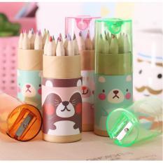 Mua Bộ 12 bút chì màu kèm chuốt P047