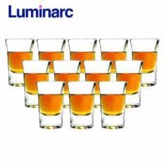 Cửa Hàng Bộ 12 Ly Rượu Thủy Tinh Luminarc Hot Shot 34Ml G2613 Trong Suốt Lâm Nguyên Trực Tuyến