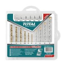 Bộ mũi khoan đa năng và bắt vít 16 chi tiết Total TACSD3165