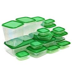 Giá Bán Bộ 17 Hộp Nhựa Đựng Thực Phẩm An Toan Để Tủ Lạnh Trong Hà Nội