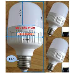 Mua Bộ 2 Bong Đen Led Bulb 10W Than Nhựa Sieu Sang Sieu Tiết Kiệm Trực Tuyến Rẻ
