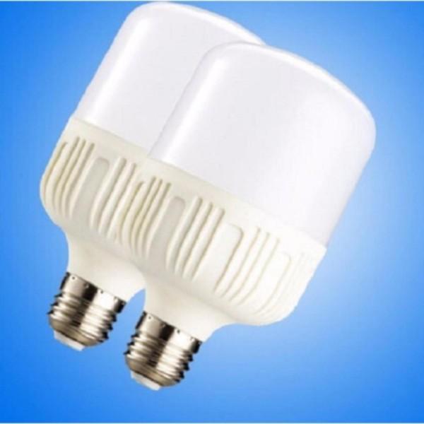 Bộ 2 bóng đèn led trụ 20W siêu sáng siêu - tiết kiệm điện (Trắng)