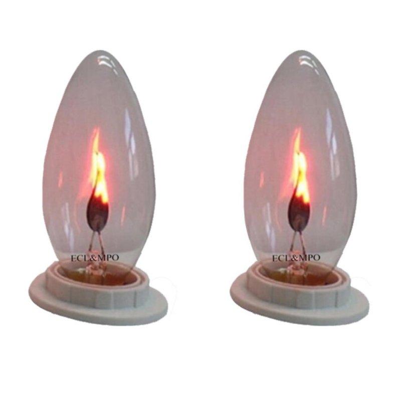 Bộ 2 bóng đèn lửa trang trí 3W - E12