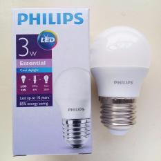 Bán Bộ 2 Bong Đen Philips Ess Ledbulb 3W E27 6500K 230V A60 Anh Sang Trắng Philips Người Bán Sỉ