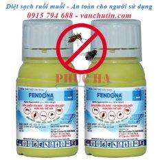 Bộ 2 chai thuốc diệt muỗi côn trùng FENDONA 10SC 50ml