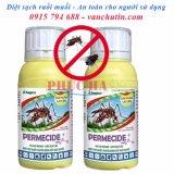 Bán Bộ 2 Chai Thuốc Diệt Muỗi Ruồi Permecide 50Ec 50Ml Có Thương Hiệu Rẻ
