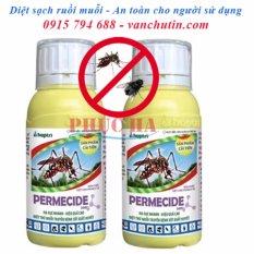 Mua Bộ 2 Chai Thuốc Diệt Muỗi Ruồi Permecide 50Ec 50Ml Basf Nguyên