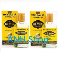 Bộ 2 Chai Tinh dầu sả 100% nguyên chất Bé Thơ 100ml_ANH Shop.