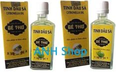 Bộ 2 Chai Tinh dầu sả 100% nguyên chất Bé Thơ 50ml_ANH Shop.