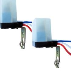 Hình ảnh Bộ 2 công tắc cảm biến ánh sáng AS10 220v 10A