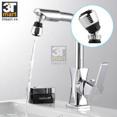 Bộ 2 đầu vòi rửa điều hướng 360 độ với 2 chế độ nước C'MON HOME (Bạc)
