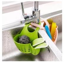 Hình ảnh Bộ 2 giỏ treo lưới rửa bát và xà bông