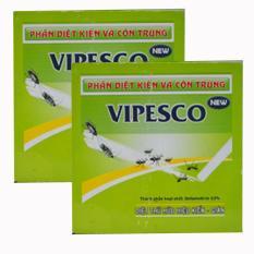 Bộ 2 Hộp Phần Diệt Kiến Va Con Trung Vipesco Hộp 20 Vien Vipesco Chiết Khấu 30