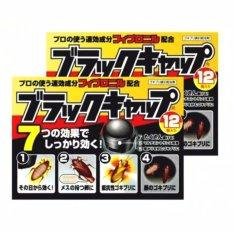 Cửa Hàng Bộ 2 Hộp Thuốc Diệt Gian Nhật Bản 12 Vien X 2 Đen Nhật Bản Trực Tuyến