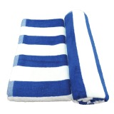 Cửa Hàng Bộ 2 Khăn Tắm Athena Bath Towels 100X180Cm Sọc Xanh Athena Trực Tuyến