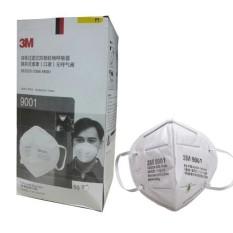 bộ 20 khẩu trang 3M 9001 kháng khuẩn ngăn mùi hôi chống bụi dạng hạt