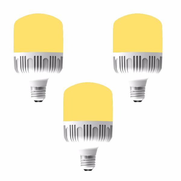 Bộ 3 bóng đèn led Bulb chống nước 13w ( ánh sáng vàng)