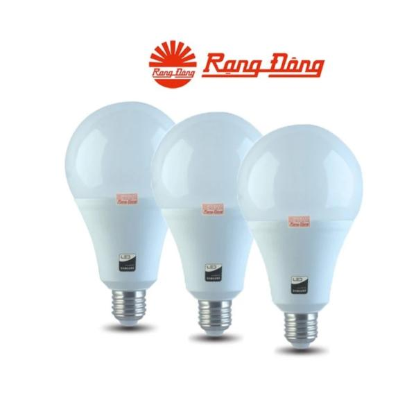 Bộ 3 Bóng đèn Led Bulb Rạng Đông A80N1/15W