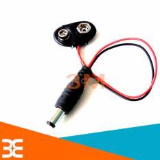 Hình ảnh Bộ 3 Dây Tạo Nguồn Từ Pin Vuông 9V sang Jack DC 5.5*2.1mm