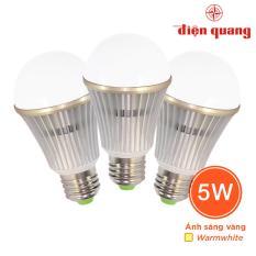 Bán Bộ 3 Đen Led Bulb Than Nhom Điện Quang Ledbu02 05727 Có Thương Hiệu