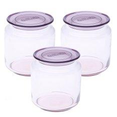 Giá Bán Bộ 3 Hủ Tt Luminarc Rondo Ice Pink 5L J5875 Luminarc