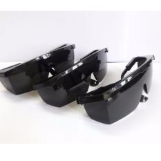 Hình ảnh Bộ 3 kính mát bảo hộ chống bụi và tia UV 809-3 (Đen)