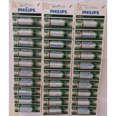 Mua Bộ 3 Vỉ 10 Vien Pin Philips Longlife Aa 1 5V 1 Xanh La Trong Hồ Chí Minh