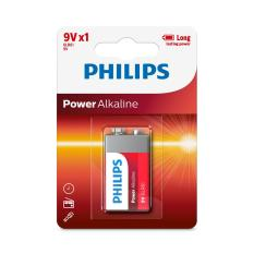 Bộ 3 viên pin Alkaline Philips 9V(Red)