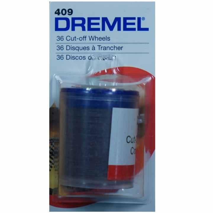 Bộ 36 đĩa cắt 24 mm mỏng 0,65 mm Dremel 409