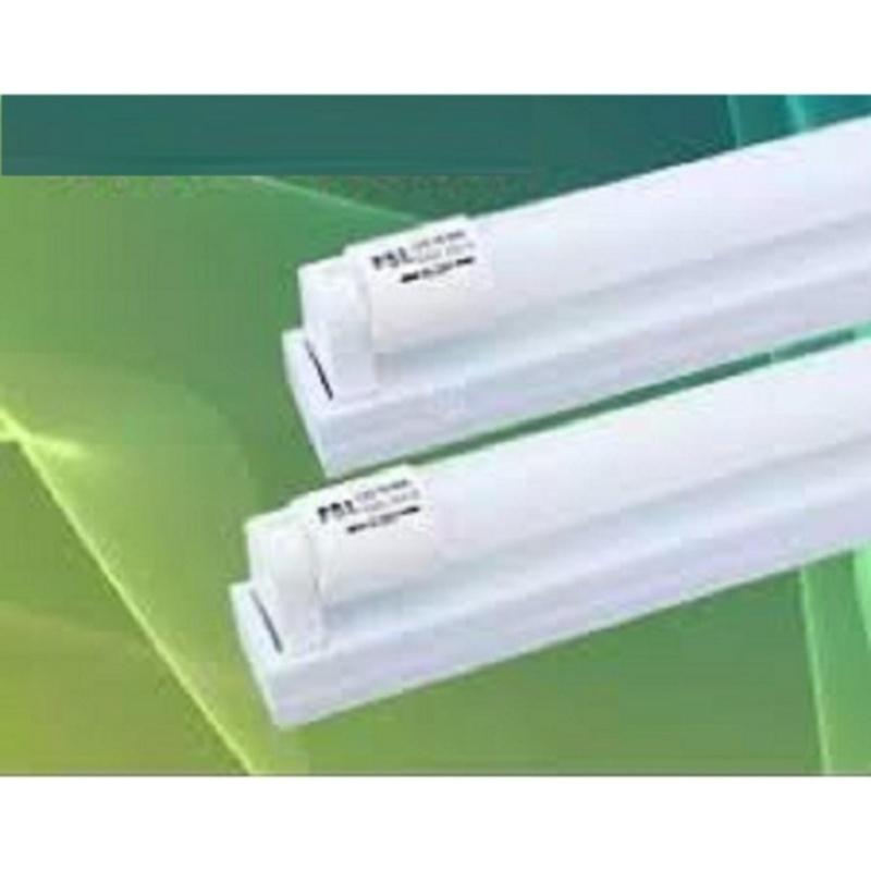 Bộ 2 bóng đèn tuýp led T8 9W 60cm (Trắng) + 2 máng đèn 60cm