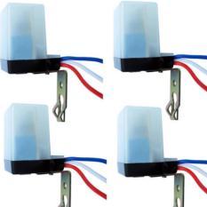 Bộ 4 công tắc cảm biến ánh sáng AS10 220v 10A