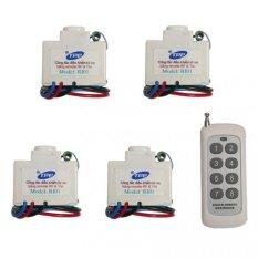 Bán Bộ 4 Cong Tắc Điều Khiển Từ Xa Ir Rf Tpe Ri01 Remote 8 Nut 315Mhz R2 5 Tpe Rẻ