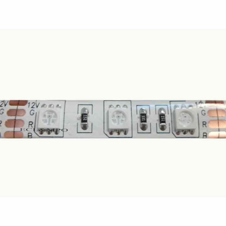 Bộ 4 Cuộn Led dây dán 5m 5050 có keo đơn màu Trắng
