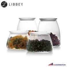 Bán Bộ 4 Hũ Thủy Tinh Nắp Nhựa Libbey Vibe Jar 501 503 Có Thương Hiệu Nguyên